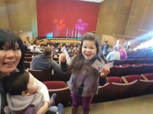 Thomas attended B - the Underwater Bubble Show - Miscellaneous Theatre on Apr 28th 2019 via VetTix