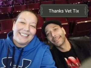 Eva  attended B - the Underwater Bubble Show - Miscellaneous Theatre on Apr 28th 2019 via VetTix