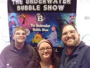 John attended B - the Underwater Bubble Show - Miscellaneous Theatre on Apr 28th 2019 via VetTix