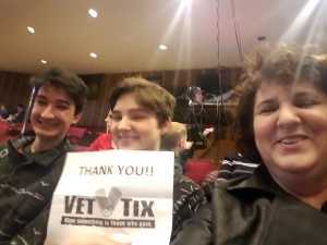 Chris attended B - the Underwater Bubble Show - Miscellaneous Theatre on Apr 28th 2019 via VetTix