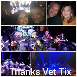 Anastacio attended Nederlander Presents: Kansas on Apr 6th 2019 via VetTix