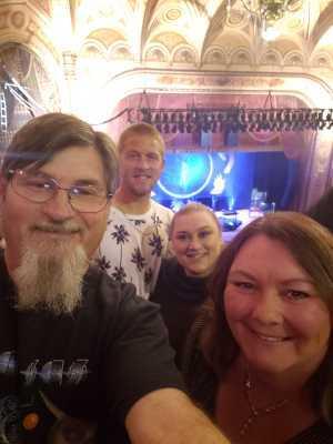 Tim attended Nederlander Presents: Kansas on Apr 6th 2019 via VetTix