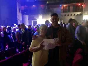 George attended Arlington Theatre Presents: Kansas on Apr 7th 2019 via VetTix
