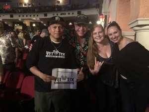 Daniel attended Arlington Theatre Presents: Kansas on Apr 7th 2019 via VetTix