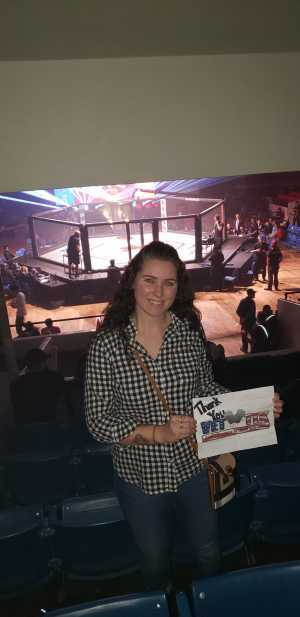Dawn attended Invicta Phoenix Rising Series - Live Mixed Martial Arts - Tracking Attendance - Presented by Invicta Fighting Championships ( on May 3rd 2019 via VetTix
