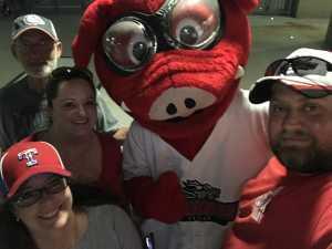 David attended Texas Airhogs vs. Winnipeg Goldeyes - American Association of Independent Professional Baseball on May 17th 2019 via VetTix