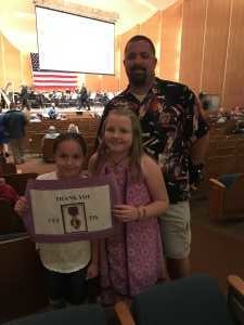 William attended An American Salute - Presented by the Buffalo Philharmonic on May 25th 2019 via VetTix