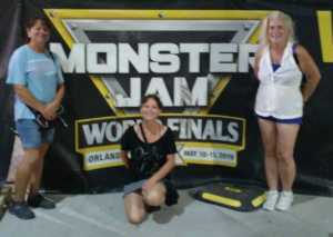 Cindi attended Monster Jam World Finals - Motorsports/racing on May 11th 2019 via VetTix