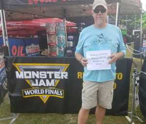 Kevin attended Monster Jam World Finals - Motorsports/racing on May 11th 2019 via VetTix