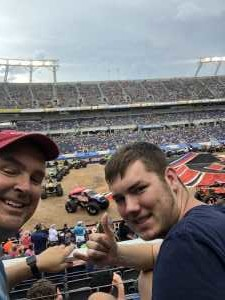 hobie attended Monster Jam World Finals - Motorsports/racing on May 11th 2019 via VetTix