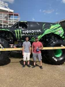 Jonathan attended Monster Jam World Finals - Motorsports/racing on May 11th 2019 via VetTix