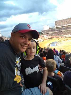 Jose attended Monster Jam World Finals - Motorsports/racing on May 11th 2019 via VetTix