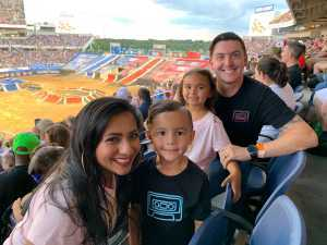 James attended Monster Jam World Finals - Motorsports/racing on May 11th 2019 via VetTix