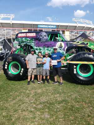 Haden attended Monster Jam World Finals - Motorsports/racing on May 11th 2019 via VetTix