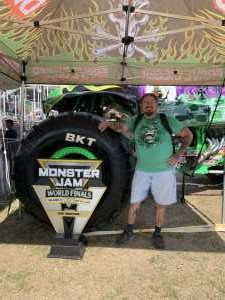 Keith  attended Monster Jam World Finals - Motorsports/racing on May 11th 2019 via VetTix