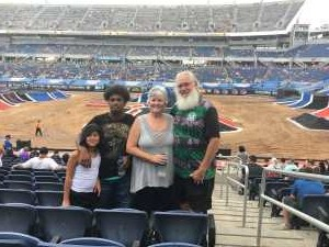 John attended Monster Jam World Finals - Motorsports/racing on May 11th 2019 via VetTix