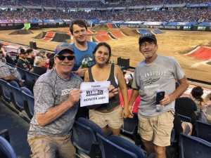 Leo attended Monster Jam World Finals - Motorsports/racing on May 11th 2019 via VetTix