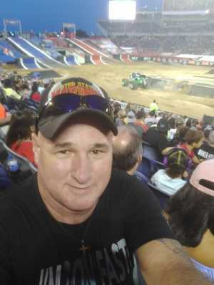 Terry attended Monster Jam World Finals - Motorsports/racing on May 11th 2019 via VetTix