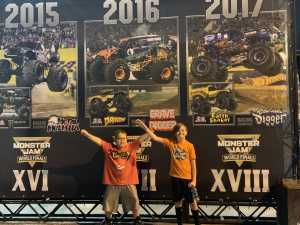 Timothy attended Monster Jam World Finals - Motorsports/racing on May 11th 2019 via VetTix