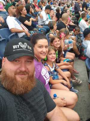 Aaron attended Monster Jam World Finals - Motorsports/racing on May 11th 2019 via VetTix