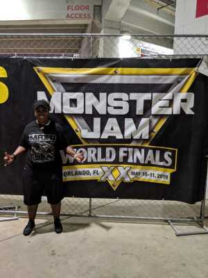 Juice attended Monster Jam World Finals - Motorsports/racing on May 11th 2019 via VetTix