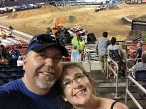 Ron attended Monster Jam World Finals - Motorsports/racing on May 11th 2019 via VetTix