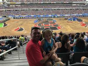 Ethan attended Monster Jam World Finals - Motorsports/racing on May 11th 2019 via VetTix