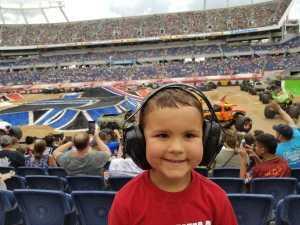 Jarrett attended Monster Jam World Finals - Motorsports/racing on May 11th 2019 via VetTix