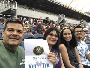 Antonio attended Monster Jam World Finals - Motorsports/racing on May 11th 2019 via VetTix