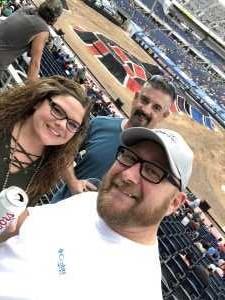 Damon attended Monster Jam World Finals - Motorsports/racing on May 11th 2019 via VetTix
