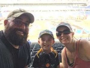 Nick attended Monster Jam World Finals - Motorsports/racing on May 11th 2019 via VetTix