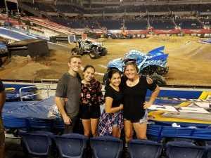 Amanda attended Monster Jam World Finals - Motorsports/racing on May 11th 2019 via VetTix