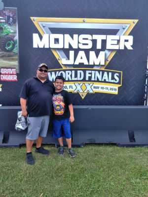 Jorge attended Monster Jam World Finals - Motorsports/racing on May 11th 2019 via VetTix