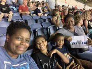 Keishia attended Monster Jam World Finals - Motorsports/racing on May 11th 2019 via VetTix