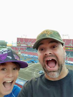 Thomas attended Monster Jam World Finals - Motorsports/racing on May 11th 2019 via VetTix
