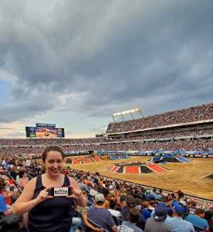 Raquel attended Monster Jam World Finals - Motorsports/racing on May 11th 2019 via VetTix