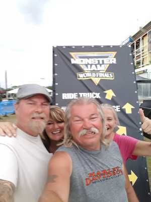 Russell attended Monster Jam World Finals - Motorsports/racing on May 11th 2019 via VetTix