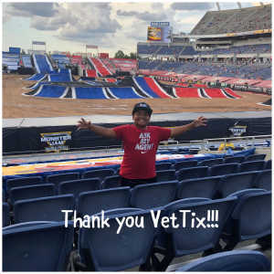 The Lewis Family attended Monster Jam World Finals - Motorsports/racing on May 11th 2019 via VetTix