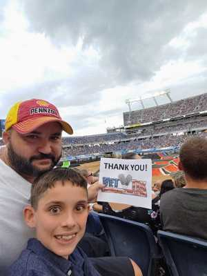 Stephan attended Monster Jam World Finals - Motorsports/racing on May 11th 2019 via VetTix