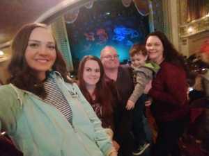 Margaret attended Underwater Bubble Show on Apr 20th 2019 via VetTix
