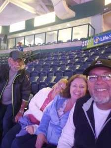 Rodney attended Florida Everblades vs. Jacksonville Icemen - ECHL - 2019 Kelly Cup Playoffs - Game 2 on Apr 13th 2019 via VetTix