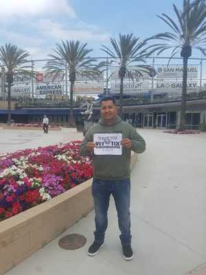 Miguel attended Premier Boxing Champions Presents Danny Garcia vs. Adrian Granados on Apr 20th 2019 via VetTix