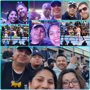 Andrew attended Premier Boxing Champions Presents Danny Garcia vs. Adrian Granados on Apr 20th 2019 via VetTix