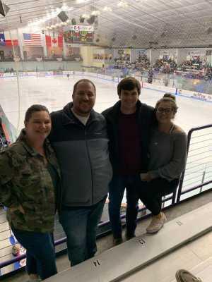 James attended Lone Star Brahmas vs Shreveport Mudbugs - Playoffs Game Two - NAHL on Apr 13th 2019 via VetTix
