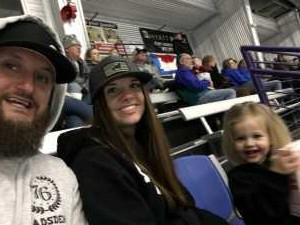 Craig attended Lone Star Brahmas vs Shreveport Mudbugs - Playoffs Game Two - NAHL on Apr 13th 2019 via VetTix