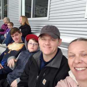 Michael attended Lone Star Brahmas vs Shreveport Mudbugs - Playoffs Game Two - NAHL on Apr 13th 2019 via VetTix