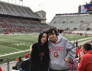 DB attended Ohio State Life Sports Spring Game - NCAA Football on Apr 13th 2019 via VetTix