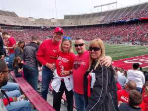 Sean attended Ohio State Life Sports Spring Game - NCAA Football on Apr 13th 2019 via VetTix