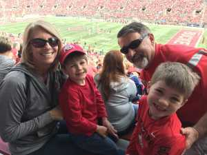 William attended Ohio State Life Sports Spring Game - NCAA Football on Apr 13th 2019 via VetTix