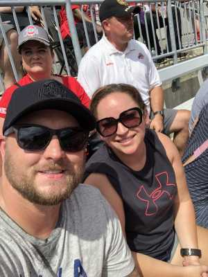 Kyle attended Ohio State Life Sports Spring Game - NCAA Football on Apr 13th 2019 via VetTix